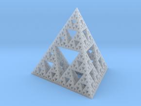 Large Sierpinski tetrix in Smooth Fine Detail Plastic