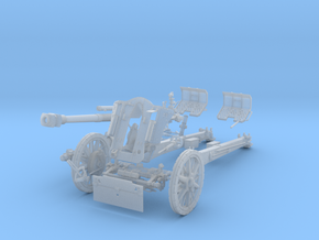 "GA002 leFH18M ""Howitzer"" 10.5 cm 28mm wargames  in Smooth Fine Detail Plastic"