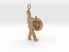 BU Pendant in Polished Brass