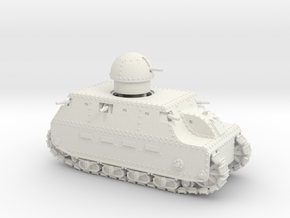 Fiat 2000 (28mm) in White Strong & Flexible