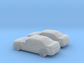 1/148 2X 2005 Chrysler 300 in Smooth Fine Detail Plastic