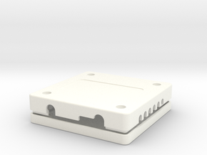 Case, Power Distribution Board, Quanum in White Processed Versatile Plastic