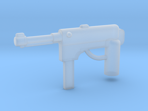 MP40 Minifigure Gun 1.0 in Smooth Fine Detail Plastic