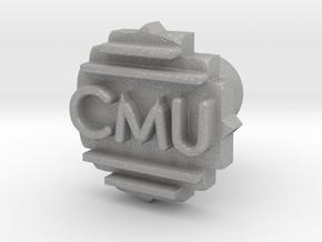 Cufflink Final in Aluminum