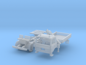 Club-of-4 Three-way side tipper (British N 1:148) in Frosted Extreme Detail