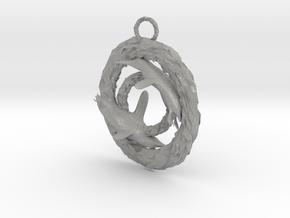 Penguin pendant in Aluminum