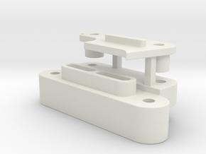 0013 - Top Force J3+4 in White Natural Versatile Plastic