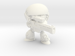 COLONIAL INFANTRY SNIPER in White Processed Versatile Plastic