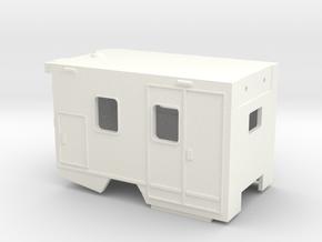 Baby-Transport (RTW) [mit Konturen] in White Processed Versatile Plastic