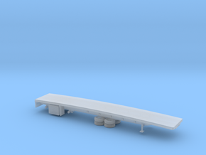 1/120 Spread  Flatbed Trailer in Smooth Fine Detail Plastic