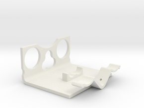 Power Cell Bracket #5 in White Natural Versatile Plastic