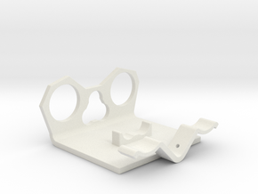 Power Cell Bracket #6 in White Natural Versatile Plastic