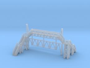 Brücke 2 - 1:220 (Z scale) in Smooth Fine Detail Plastic