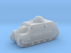 Fiat 2000 (6mm - 1/285 scale) in Frosted Ultra Detail