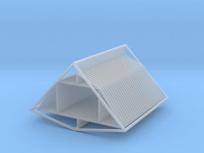 Gambrel Attic Truss 27 Z Scale in Smooth Fine Detail Plastic
