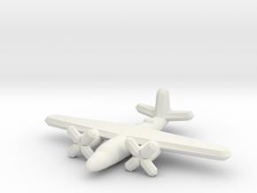 Martin B-26 Marauder (1/900) in White Natural Versatile Plastic