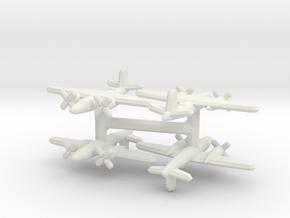 Martin B-26 Marauder (1/900) x4 in White Natural Versatile Plastic