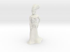 28mm Cleopatra in White Natural Versatile Plastic
