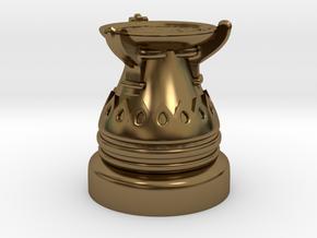 35mm Egyptian Cauldron  in Polished Bronze