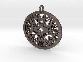 Ornamental #6 in Polished Bronzed Silver Steel