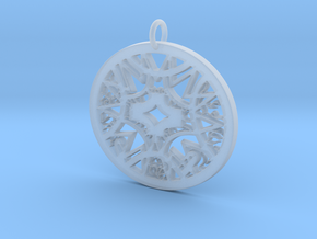 Ornamental #6 in Smooth Fine Detail Plastic