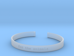 For the Animals Bracelet in Smoothest Fine Detail Plastic