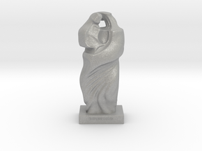 Mother Child Sculpture in Aluminum