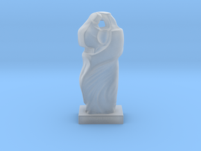 Mother Child Sculpture in Smooth Fine Detail Plastic
