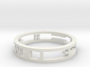 Model-d8d833832ff597873163aefe96389607 in White Natural Versatile Plastic