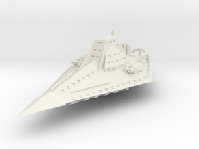JAL303 Yorifaz Battlecruiser in White Natural Versatile Plastic