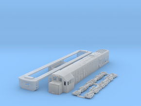 N scale U20c in Smooth Fine Detail Plastic