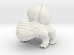 Bulbasaur BIG in White Natural Versatile Plastic