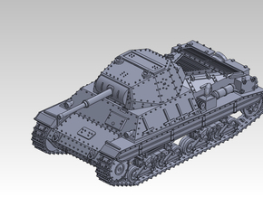 1/120 CARRO ARMATO P40 in Smooth Fine Detail Plastic
