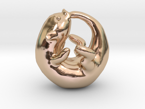 Otterboros in 14k Rose Gold Plated