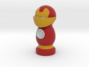 Catan Robber Knight Iron Man in Full Color Sandstone