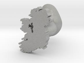 Roscommon Cufflink in Aluminum