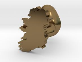 Mayo Cufflink in Polished Bronze