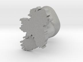 Leinster Cufflink in Aluminum