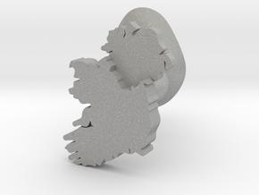 Ulster Cufflink in Aluminum