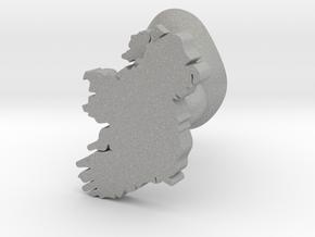 Donegal cufflink in Aluminum