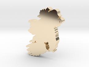 Kilkenny  Earring in 14k Gold Plated Brass