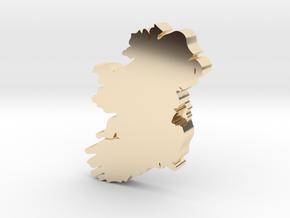 Dublin Earring in 14k Gold Plated Brass