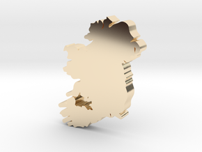 Limerick Earring in 14k Gold Plated Brass