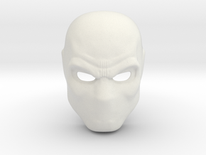 Deathstroke Arrow Season 1 Mask  in White Natural Versatile Plastic