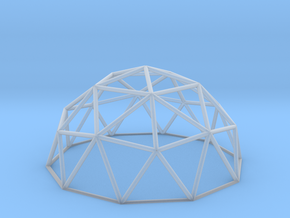 Geodesic Dome in Frosted Ultra Detail