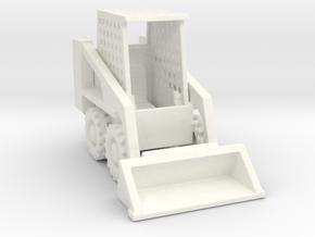 BobCat 1-87 HO Scale in White Processed Versatile Plastic