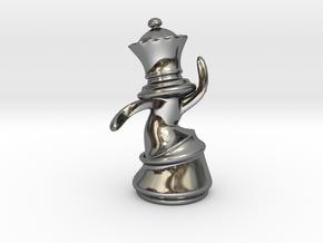 Dansing Queen in Fine Detail Polished Silver