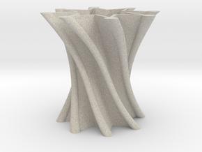 Vase01 in Natural Sandstone