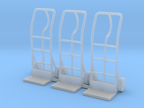 Hand truck 01. 1:24 Scale in Smooth Fine Detail Plastic