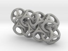 Spherical Cuboid Chain in Aluminum